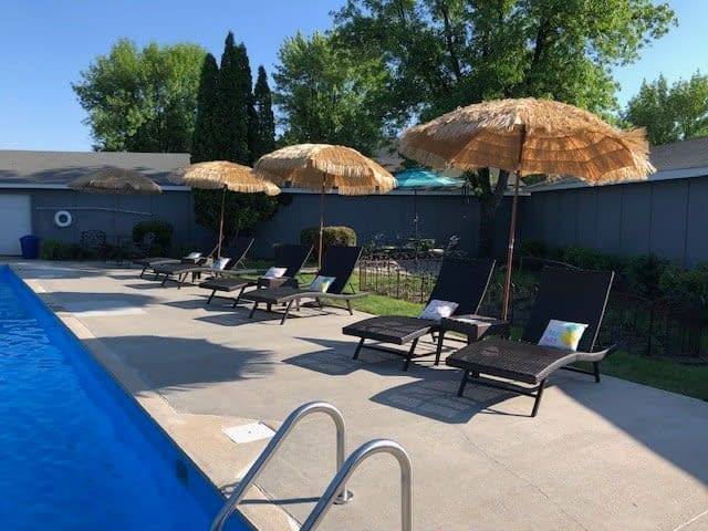 Carrington Court Townhomes Grand Forks Swimming Pool