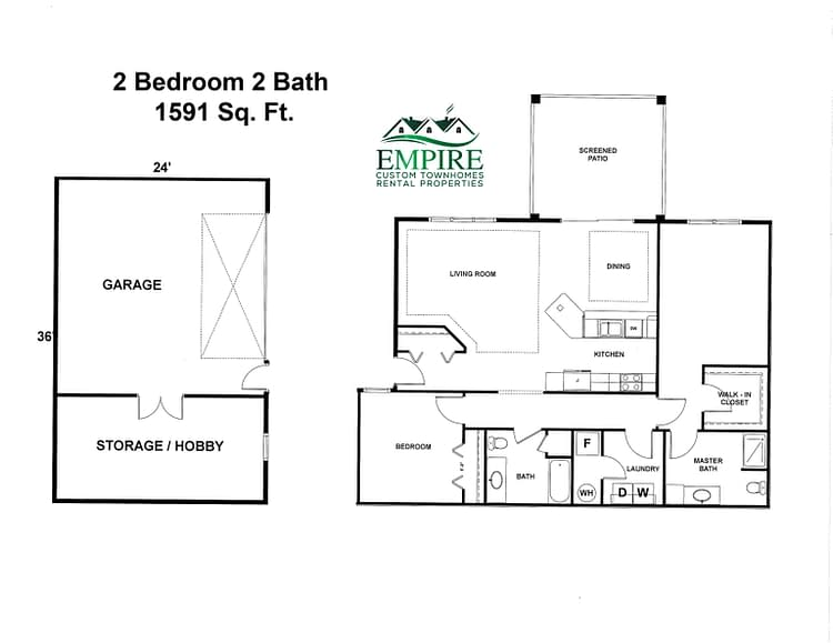 Grand Forks Empire Townhomes 3 bedroom